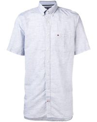 Tommy Hilfiger - Logo-embroidered Button-down Shirt - Lyst