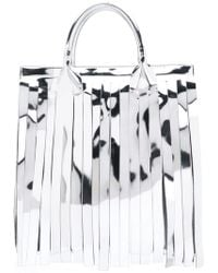 MM6 by Maison Martin Margiela - Fringe Tote Bag - Lyst