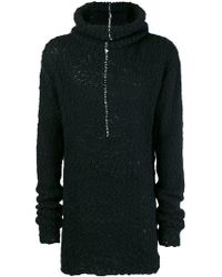 Thom Krom - Stitch-detail Roll Neck Sweater - Lyst