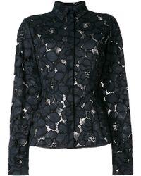 Talbot Runhof - Lotus Lace Shirt - Lyst