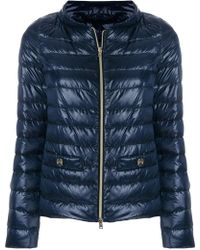 Herno - Quilted Down Jacket - Lyst