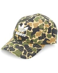 Adidas | Camouflage Print Cap | Lyst