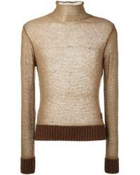Al Duca d'Aosta - Roll Neck Sweater - Lyst