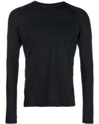 adidas - Crew Neck Fitted Long Sleeved Top - Lyst