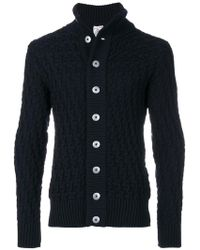 S.N.S Herning - Textured Knit Cardigan - Lyst