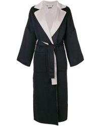 N.Peal Cashmere - Double Sided Oversized Coat - Lyst