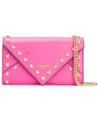 6e6caf370d Moschino Home Air Freshener Bag In Pink Calfskin - Lyst