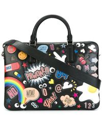 Anya Hindmarch - Multiple Patches Briefcase - Lyst