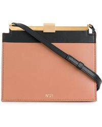 N°21 - Structured Mini Shoulder Bag - Lyst