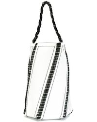 Proenza Schouler - Large Whipstitch Hex Bucket Bag - Lyst