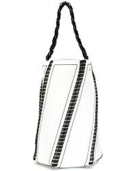 Proenza Schouler - Large Whipstitch Hex Bucket Bag - Lyst