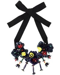 P.A.R.O.S.H. - Floral Necklace - Lyst