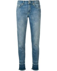 Dondup - Faded Slim Jeans - Lyst