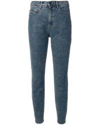 Diesel Black Gold - High-waisted Slim Jeans - Lyst