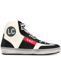 Leather Crown - High-Top-Sneakers mit Logo - Lyst