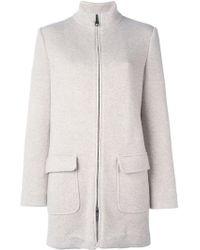 Manzoni 24 | Zipped Short Coat | Lyst