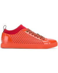 Vivienne Westwood - Perforated Lace-up Trainers - Lyst