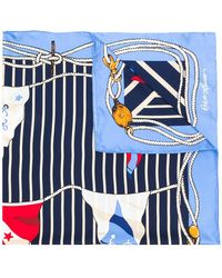 Polo Ralph Lauren | Nautical Motif Scarf | Lyst