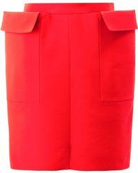 Maison Rabih Kayrouz | Straight Mini Skirt | Lyst