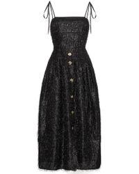 Rejina Pyo | Issy Fringe Dress With Thin Straps | Lyst