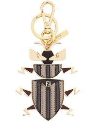 Fendi - Super Bugs Key Ring - Lyst
