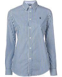 Polo Ralph Lauren - Camisa con motivo de rayas - Lyst