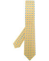 Kiton - Micro Printed Tie - Lyst