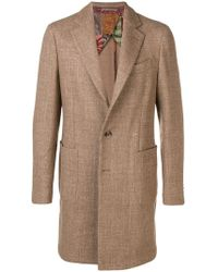 Etro - Tailored Single Breasted Coat - Lyst
