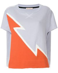 Marni - Dovetail Print Sweatshirt - Lyst