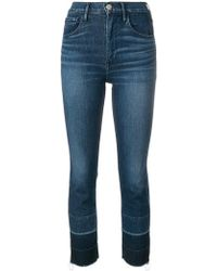 3x1 - Shelter Straight Cropped Jeans - Lyst