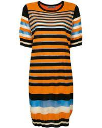 Henrik Vibskov - Multi-stripe T-shirt Dress - Lyst