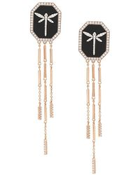 Anapsara - Dragonfly Earrings - Lyst