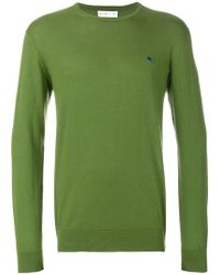 Etro - Long Sleeve Knitted Jumper - Lyst