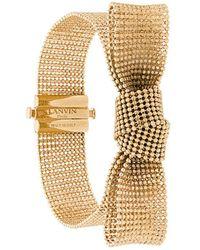 Lanvin - Bow Cuff Bracelet - Lyst