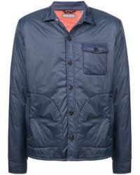Michael Bastian - Padded Shirt Jacket - Lyst