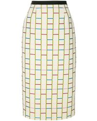 Antonio Marras - Fitted Knit Skirt - Lyst