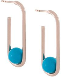 Astley Clarke - Marcel Oval Hoop Earrings - Lyst