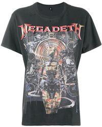 R13 - Megadeth T-shirt - Lyst
