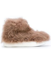 Peter Non - Allover Faux Fur Boots - Lyst