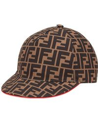 Fendi - Ff Logo Baseball Cap - Lyst