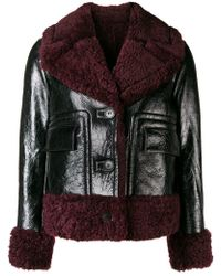 Meteo by Yves Salomon - Shearling Lined Jacket - Lyst