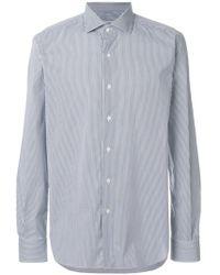 Xacus - Pinstripe Shirt - Lyst