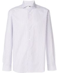 Corneliani - Striped Shirt - Lyst
