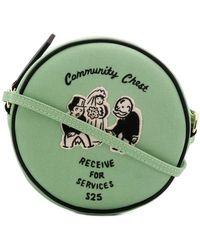 Olympia Le-Tan - Community Chest Shoulder Bag - Lyst