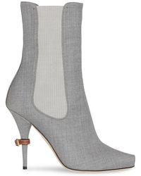 eda44eee49f Lyst - Women s Burberry Heel and high heel boots On Sale