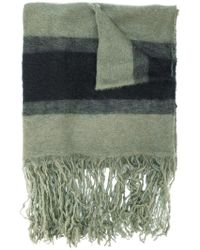 Golden Goose Deluxe Brand - Striped Scarf With Fringed Hem - Lyst