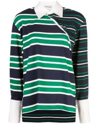 Monse - Knitted Sweatshirt - Lyst
