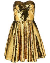 Amen - Sweetheart Neck Dress - Lyst