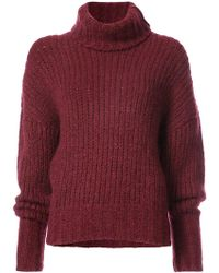 By. Bonnie Young - Oversized Turtleneck Jumper - Lyst