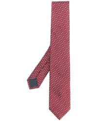 Ermenegildo Zegna - Geometric Patterned Tie - Lyst